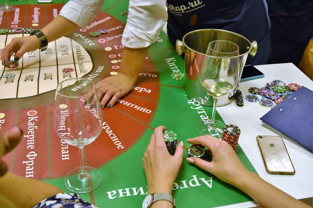 Дегустация Винное казино