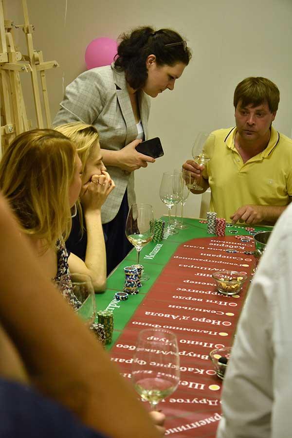 Заказать вывездную дегустацию  «Винное казино»