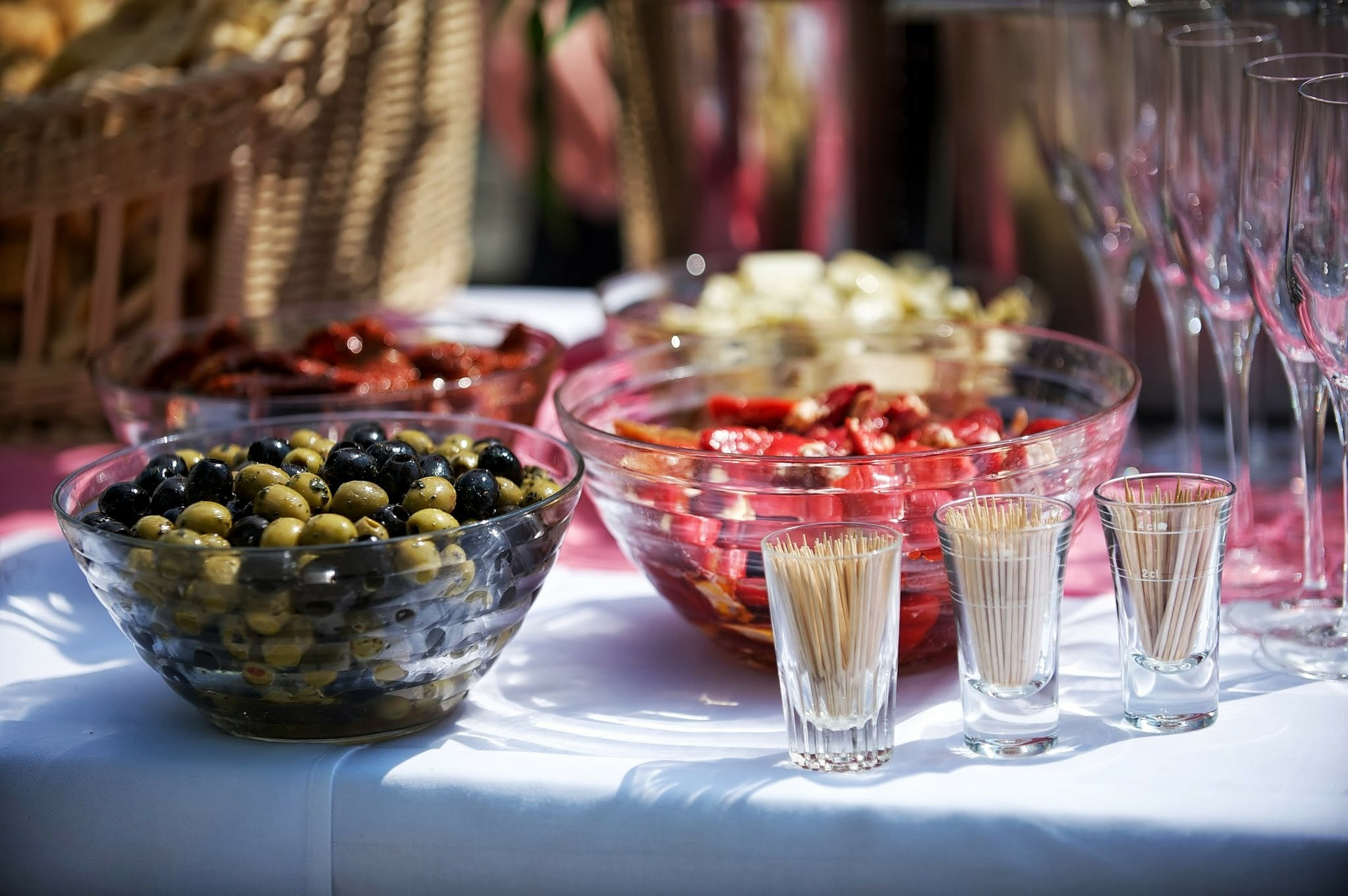 Греческие оливки с косточкой